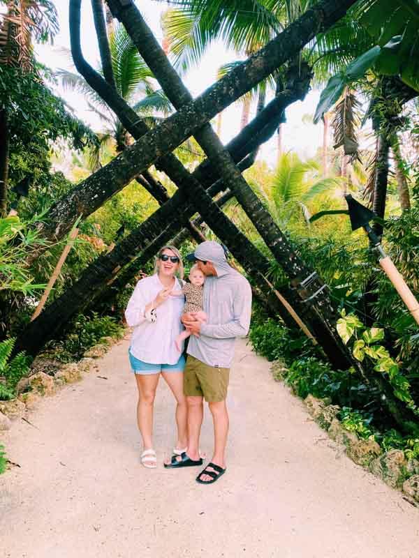 cheeca lodge palm tree instagram shot