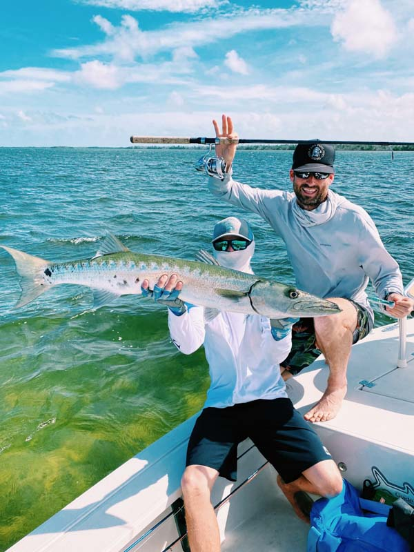 catching a baracuda with justin bachert