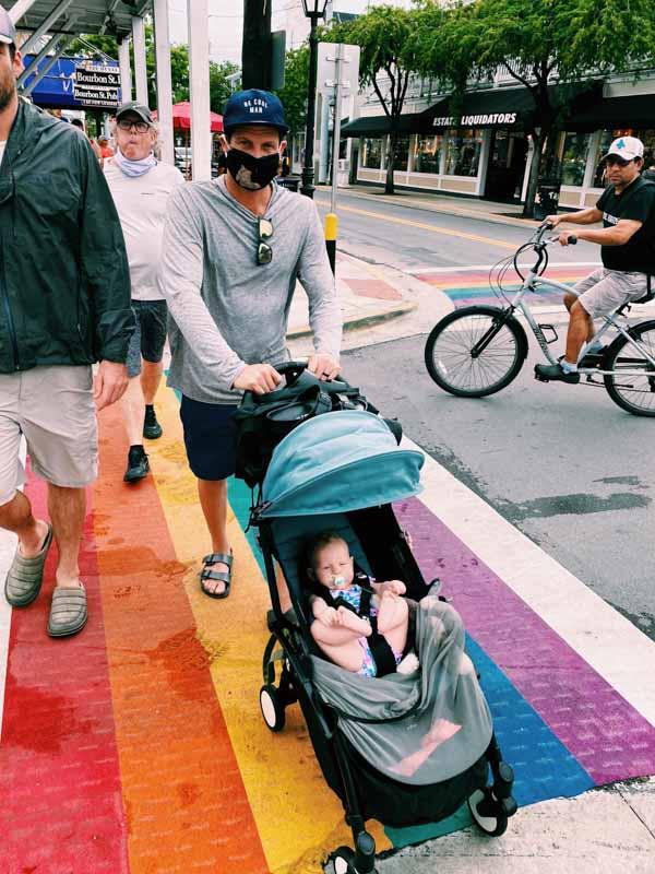 key west rainbow street