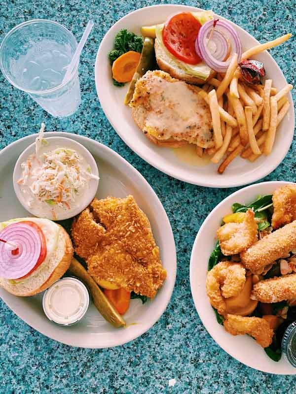 lazy days best fish sandwich the keys