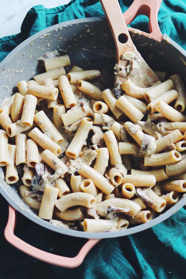 truffle oil pasta