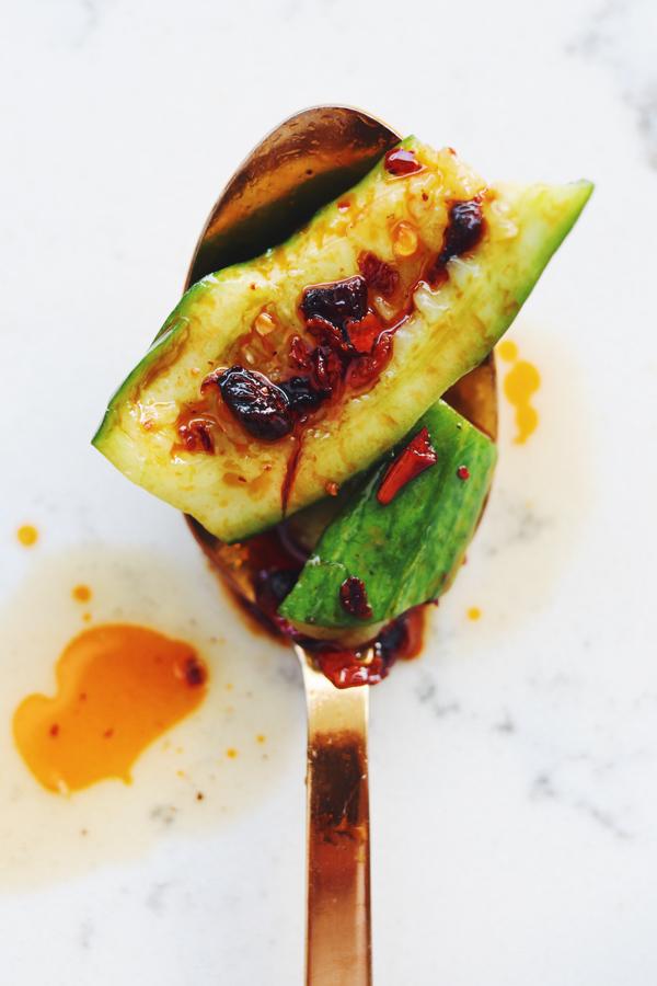 xian famous foods cucumber salad recipe