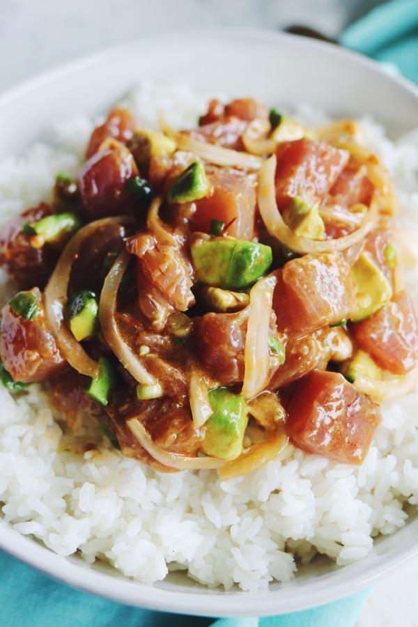 bluefin tuna poke recipe
