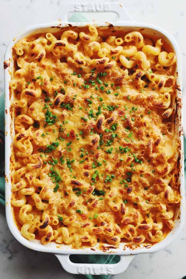 crispy crust mac and cheese