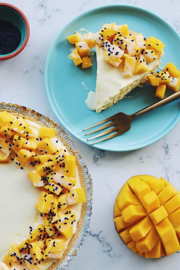 Mango Sticky Pie