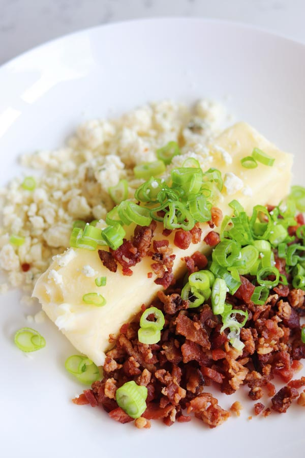 blue cheese bacon compound butter