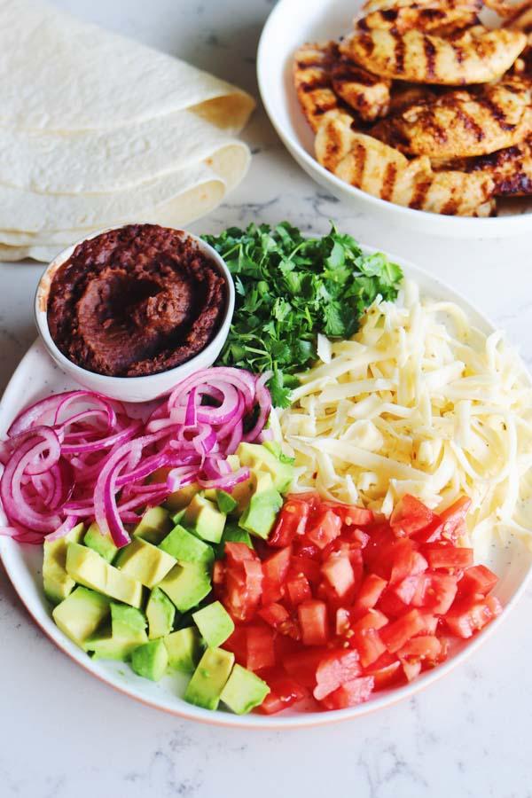 burrito fillings