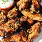 grilled lemon pepper wings