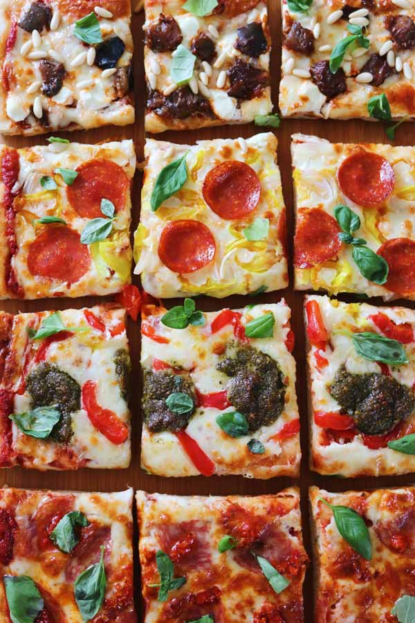 pizza al taglio ingredients